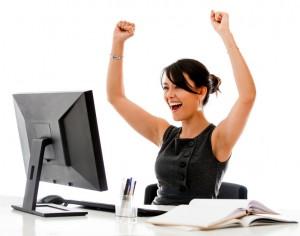 make money online lady