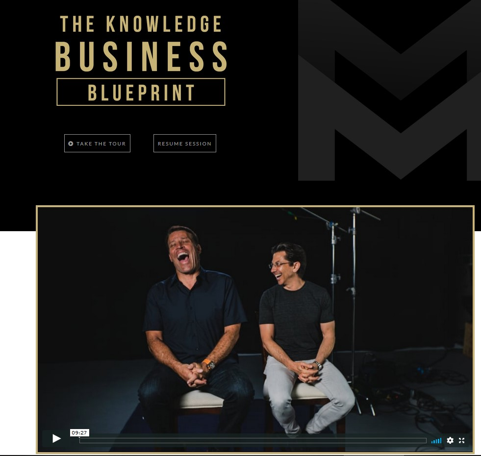 knowledge blueprint business review